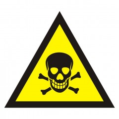 Warning of toxic substances