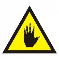 Warning of corrosive substances