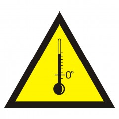 Warning of high temperatures