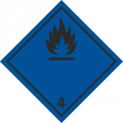 Substances which in contact with water emit flammable gases