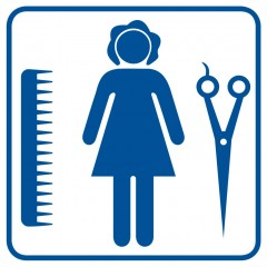 Women hairdresser