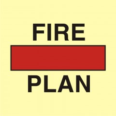 Fire control plan in cointainer