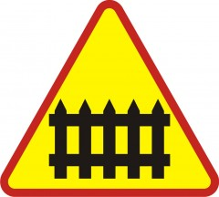 Controlled railway crossing