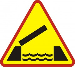 Drawbridge ahead