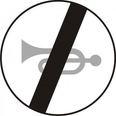 End of horn prohibitions