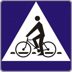 Yield to bicycles