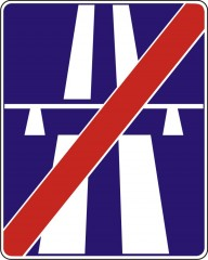 End of expressway