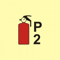 Powder fire extinguisher P2