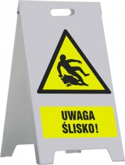 Stand with signs (any graphics) - small 30 X 42 cm