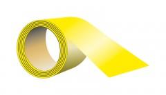 self-adhesive tape to the floor, length 33 m x width 5 cm yellow