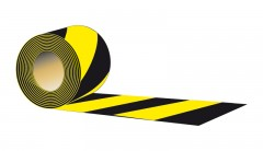 type A - double - sided, 8,5 cm X 100 meters - black - yellow