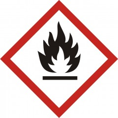 Flammable product