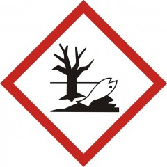 Dangerous for the environment product