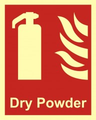 Extinguisher dry powder