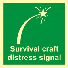 Survival-craft distress signal