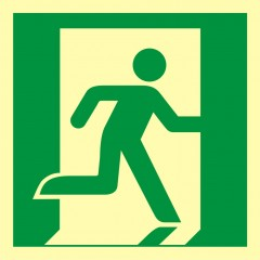 Emergency exit (right hand)