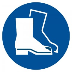 Wear safety footwear