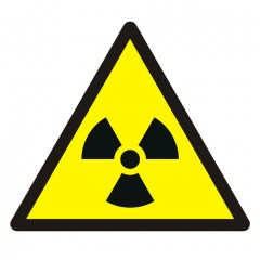 Warning; Radioactive material or ionizing radiation