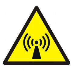 Warning; Non-ionizing radiation