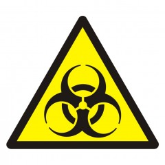 Warning; Biological hazard