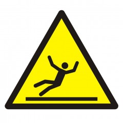 Warning; Slippery surface