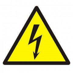 Warning; Electricity