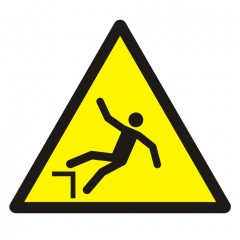 Warning; Drop (fall)