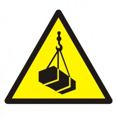 Warning; Overhead load