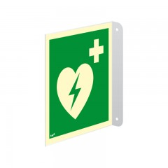 Automated external heart defibrillator (AED)