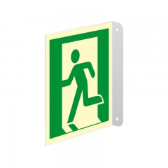 Emergency exit (left hand)