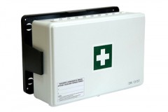 Factory first aid kit with hook BD Equipment DIN 13164