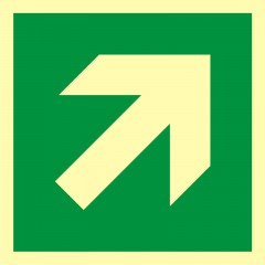 Direction to emergency exit