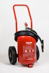 Portable dry powder fire extinguisher GP 25x ABC/E up to 245kV