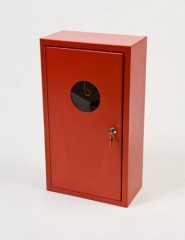Fire extinguisher cabinet for 4 kg and 6 kg fire extinguishers