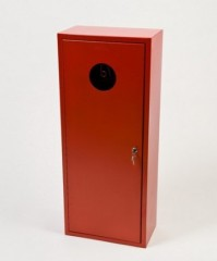Fire extinguisher cabinet for 9 kg to 12 kg fire extinguishers