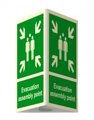 3D External assembly point sign – large- 35 x 51,8 cm