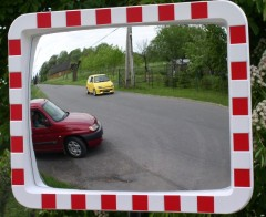 U-18b-Rectangle polycarbonate mirror