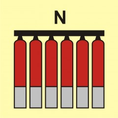Fixed fire-extinguishing battery (N-nitrogen)
