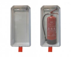 Fire extinguisher cabinet for 12 kg fire extinguishers KRISTAL