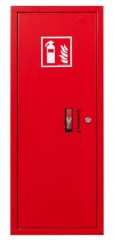 Fire extinguisher cabinet for 12kg or GS-5x fire extinguishers