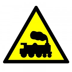 Warning - ramp or level crossing