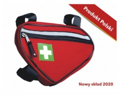 Bicycle frame first aid kit