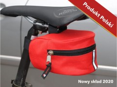 Bicycle saddle first aid kit