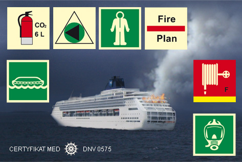 Signs for sea ships - new offer of ISSA / IMPA signs